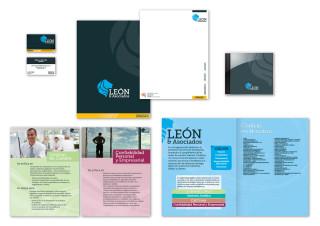 León & Asociados – Identity